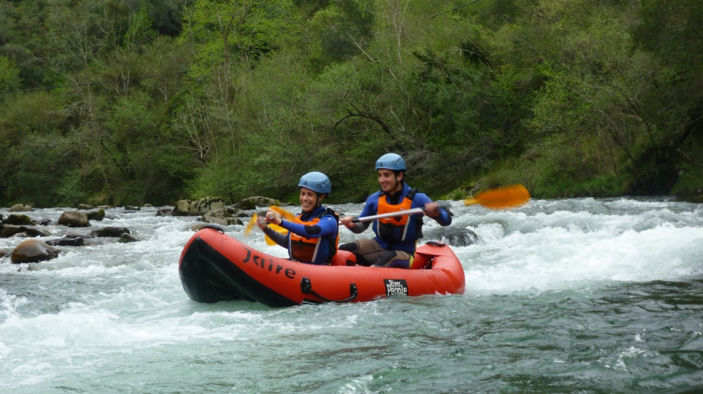Hacer Canoa Raft